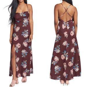 NWOT Show Me Your Mumu // Winslet Cowl Maxi Dress